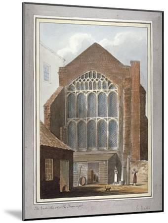 Southwark Cathedral, London, 1825-G Yates-Mounted Giclee Print