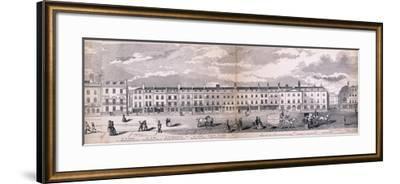 Panorama of London, 1849-George C Leighton-Framed Giclee Print