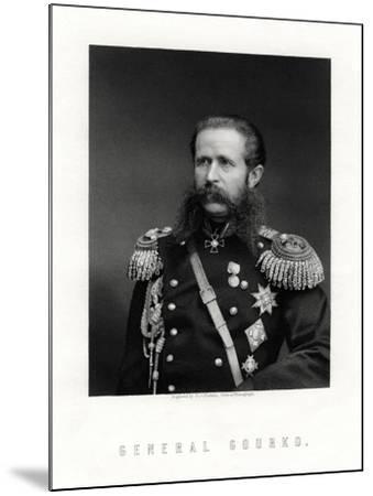 Iosif Vladimirovich Gurko, Russian Field Marshal, 19th Century-George J Stodart-Mounted Giclee Print