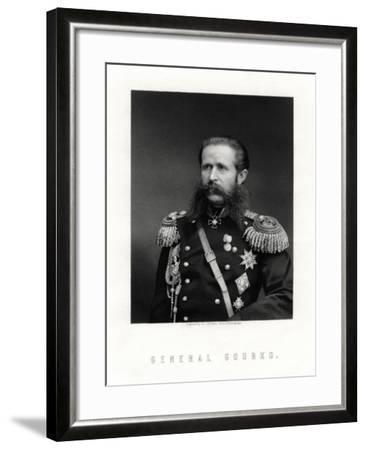 Iosif Vladimirovich Gurko, Russian Field Marshal, 19th Century-George J Stodart-Framed Giclee Print