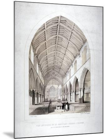 Church of St Dunstan, Stepney, London, 1846-George Childs-Mounted Giclee Print