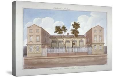 The Protestant Dissenters' School, Maze Pond, Bermondsey, London, 1825-G Yates-Stretched Canvas Print