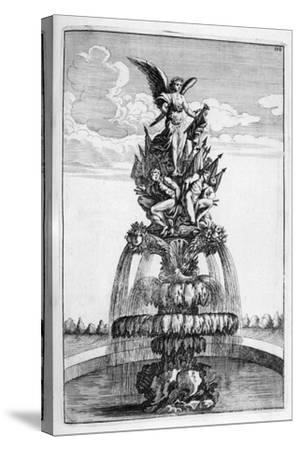 Fountain Design, 1664-Georg Andreas Bockler-Stretched Canvas Print