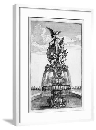 Fountain Design, 1664-Georg Andreas Bockler-Framed Giclee Print