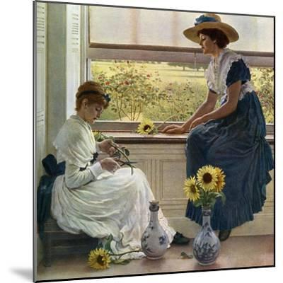 Sun and Moon Flowers, 1890-George Dunlop Leslie-Mounted Giclee Print