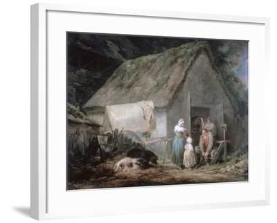 Morning: Higglers Preparing for Market, 1791-George Morland-Framed Giclee Print