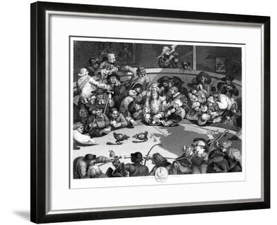 The Cock Pit, C1840-George Presbury-Framed Giclee Print