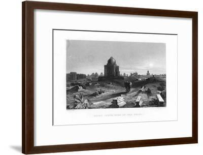 Ruins South Side of Old Delhi, India, 19th Century-G Hamilton-Framed Giclee Print