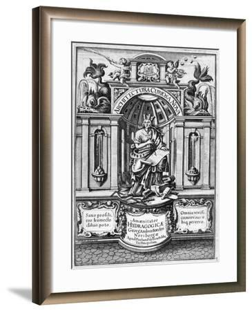 Front Page of Architectura Curiosa Nova, 1664-Georg Andreas Bockler-Framed Giclee Print
