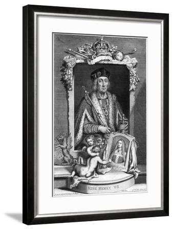 Henry VII of England, (18th Centur)-George Vertue-Framed Giclee Print