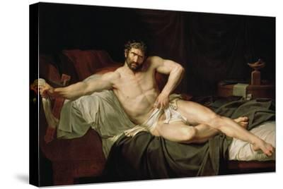Cato Uticensis, C1795-Guillaume Lethiere-Stretched Canvas Print
