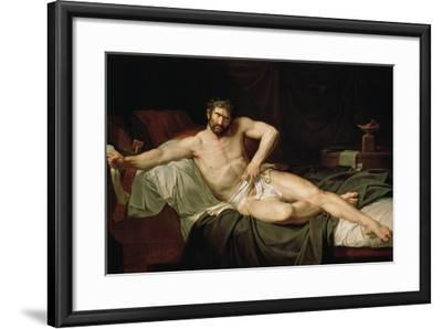 Cato Uticensis, C1795-Guillaume Lethiere-Framed Giclee Print