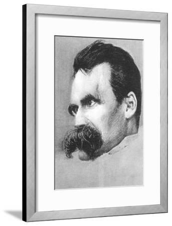 Friedrich Wilhelm Nietzsche, German Philospher and Writer-Hans Olde-Framed Giclee Print