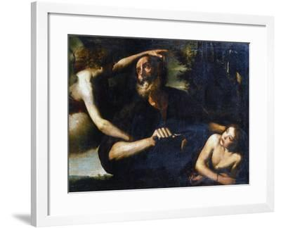 The Sacrifice of Isaac, Early 17th Century-Giuseppe Vermiglio-Framed Giclee Print