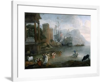 The Abduction of Europa, 17th Century-Hendrick van Minderhout-Framed Giclee Print
