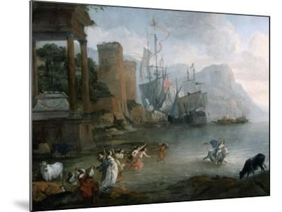 The Abduction of Europa, 17th Century-Hendrick van Minderhout-Mounted Giclee Print