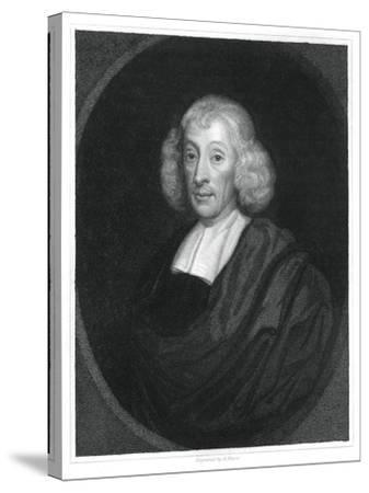 John Ray, English Naturalist-H Mayer-Stretched Canvas Print