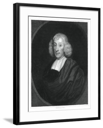 John Ray, English Naturalist-H Mayer-Framed Giclee Print