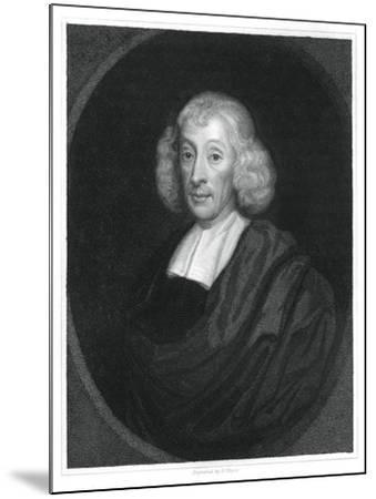 John Ray, English Naturalist-H Mayer-Mounted Giclee Print
