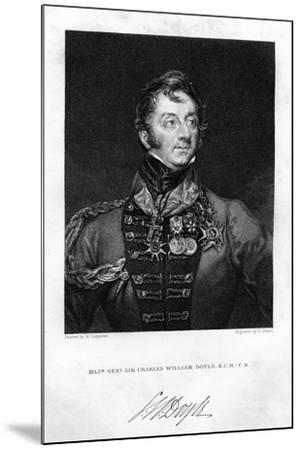 Sir Charles Hastings Doyle (1804-188), British Soldier, 1837-H Mayer-Mounted Giclee Print