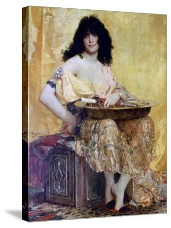 Salomé, 1870-Henri Alexandre Georges Regnault-Stretched Canvas Print