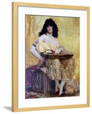 Salomé, 1870-Henri Alexandre Georges Regnault-Framed Giclee Print