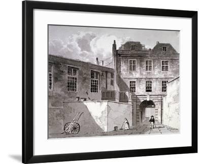 Shaftesbury House, Aldersgate Street, London, 1811-George Shepherd-Framed Giclee Print