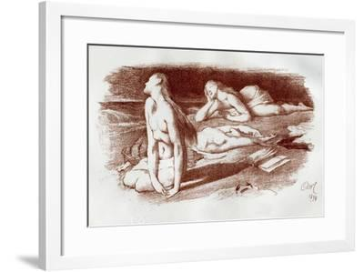 The Dreamers, 1898-Georges McCulloch-Framed Giclee Print