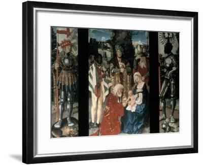Adoration of the Magi, 1507-Hans Baldung-Framed Giclee Print
