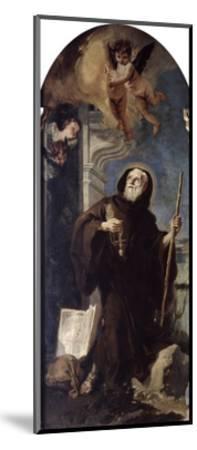 Ecstasy of Saint Francis of Paula, 18th Century-Giovanni Battista Tiepolo-Mounted Giclee Print