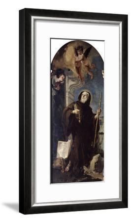 Ecstasy of Saint Francis of Paula, 18th Century-Giovanni Battista Tiepolo-Framed Giclee Print