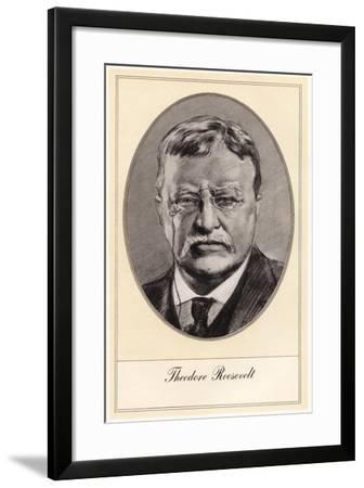 Theodore Roosevelt, 26th President of the United States-Gordon Ross-Framed Giclee Print