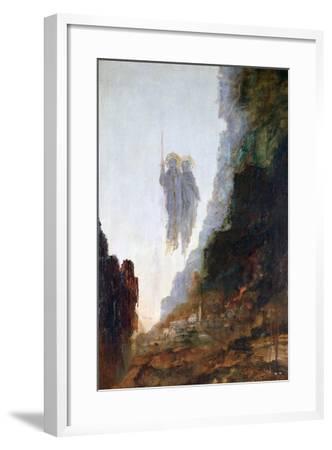 Angels of Sodom, C1846-1898-Gustave Moreau-Framed Giclee Print