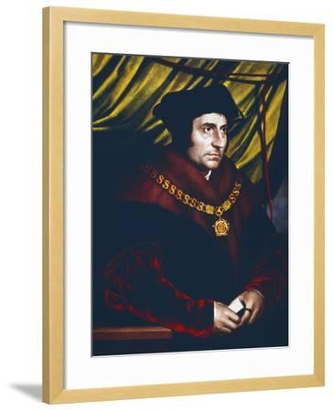 Thomas More, English Statesman, Scholar and Saint, C1527-Hans Holbein the Younger-Framed Giclee Print