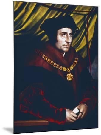 Thomas More, English Statesman, Scholar and Saint, C1527-Hans Holbein the Younger-Mounted Giclee Print