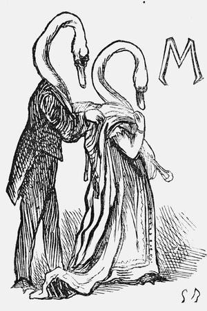 A Dream after Goose, 1867-Georgina Bowers-Premium Giclee Print