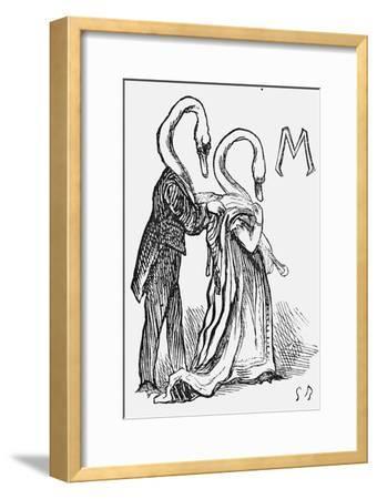 A Dream after Goose, 1867-Georgina Bowers-Framed Giclee Print