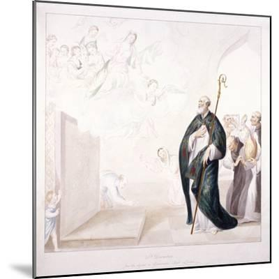 St Dunstan, C1750-GP Harding-Mounted Giclee Print