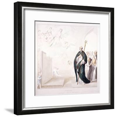 St Dunstan, C1750-GP Harding-Framed Giclee Print