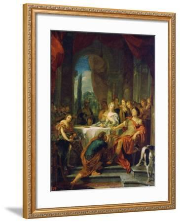 Antony and Cleopatra, 17th or Early 18th Century-Gerard De Lairesse-Framed Giclee Print