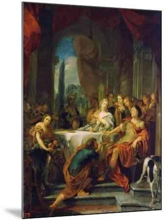 Antony and Cleopatra, 17th or Early 18th Century-Gerard De Lairesse-Mounted Giclee Print