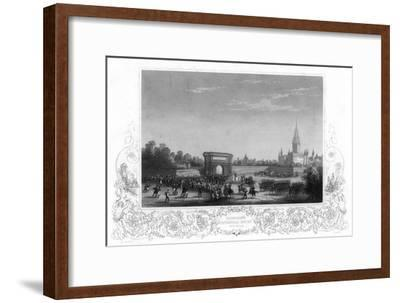 Napoleon's Triumphal Entry into Milan, Italy, C1805-H Bibby-Framed Giclee Print