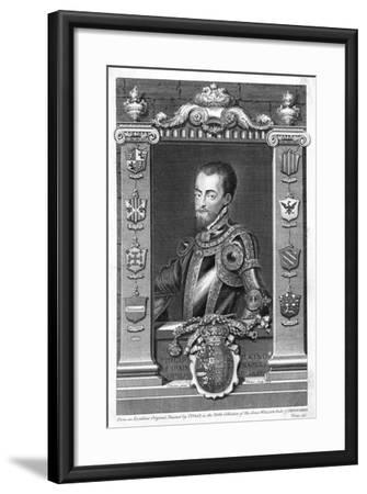 Philip II, King of Spain, 16th Century, (173)-George Vertue-Framed Giclee Print