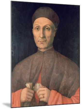 Portrait of a Scholar, C1450-1507-Giovanni Bellini-Mounted Giclee Print