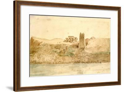 Kom Ombo, Egypt, 19th Century-Hector Horeau-Framed Giclee Print