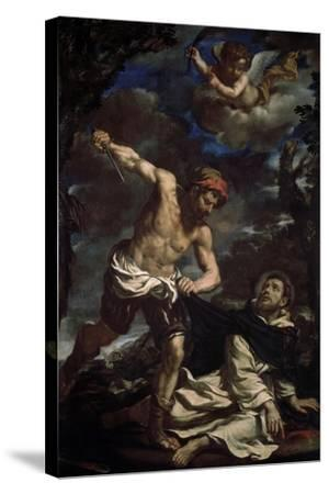 The Martyrdom of Saint Peter, End 1620S-Guercino-Stretched Canvas Print