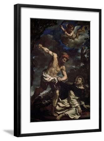 The Martyrdom of Saint Peter, End 1620S-Guercino-Framed Giclee Print