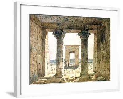Dandouna, Egypt, 19th Century-Hector Horeau-Framed Giclee Print