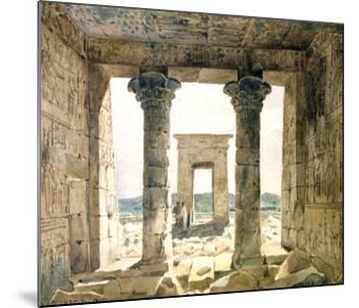Dandouna, Egypt, 19th Century-Hector Horeau-Mounted Giclee Print