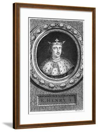 Henry I, King of England-George Vertue-Framed Giclee Print